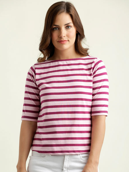 Learn To Juggle Stripe Top