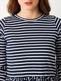 Forehead Kisses Striped Top