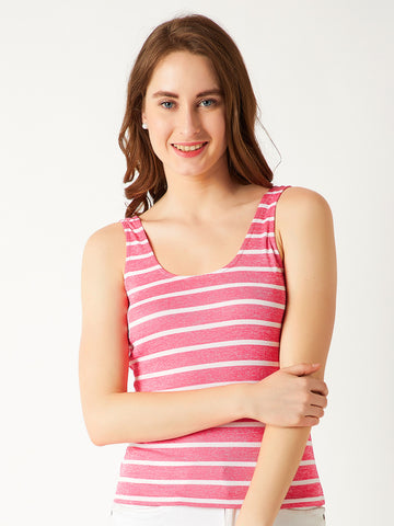 Outside Today Stripe Tank Top
