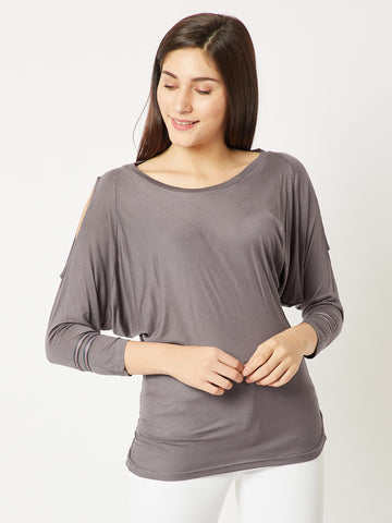 Die For You Twill Sleeve Top
