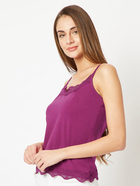 Lindsay Life Lace Tank Top