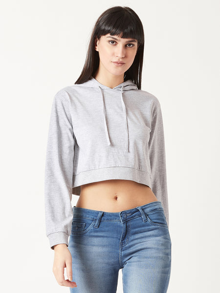 Ever Mine Hooded Crop Top