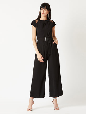 You Decide Today Belted Jumpsuit