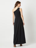Sleepless Night One Shoulder Maxi Dress