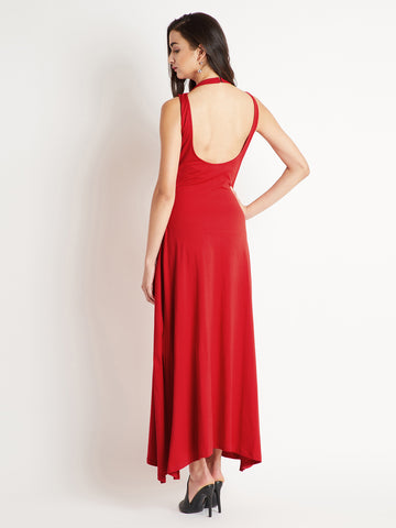 Flipped In My Head Pearl Maxi Dress