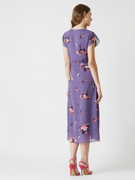 Forever My Girl Tie-Up Midi Dress