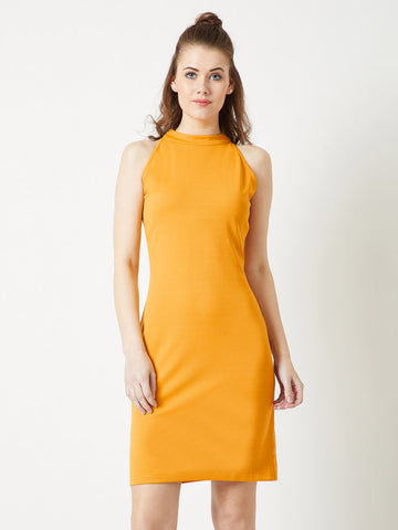 Women Like Us High Neck Dress