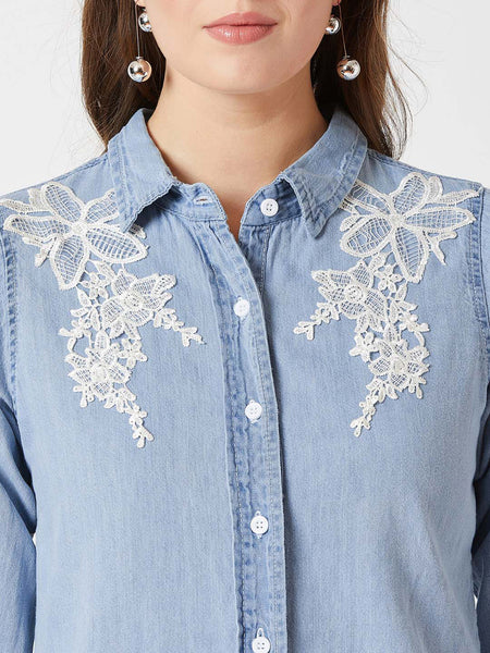 Live In The Moment Denim Shirt