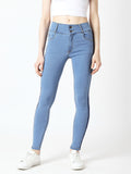 Charming Girl High Waist Denim Pant