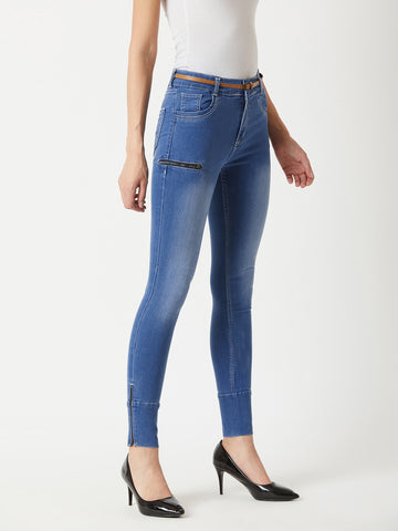 All About Luck Zipper Jeans