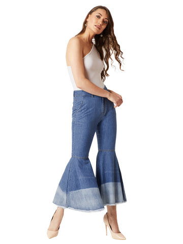 Bubble Up Denim Pants