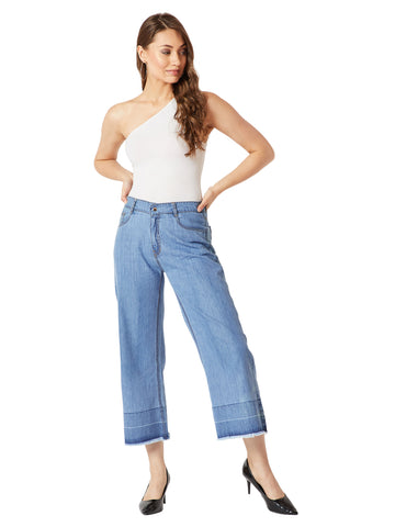 Just Be You Flared Denim Pants
