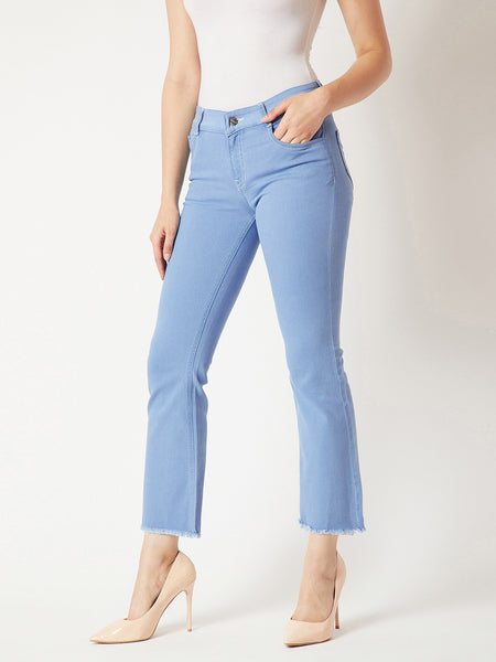 Reflect Glow Bootcut Denim Pants