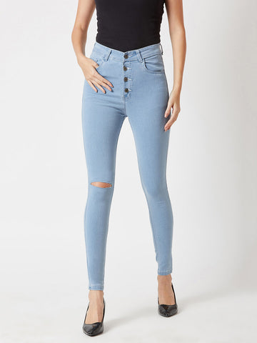 Keep It Real High Waist Denim Pant