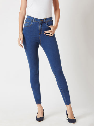 Way of Life High Waist Denim Pant