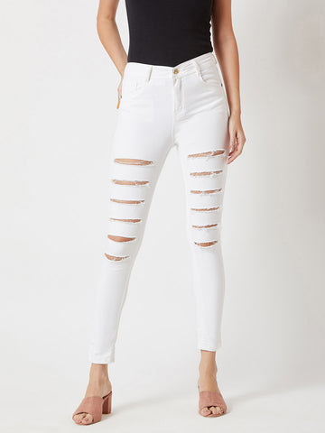 Explore Magic Ripped Skinny Fit Jeans
