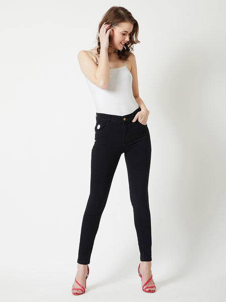 Easy Going Black Denims