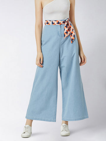 Straight From The Heart Denim Pant
