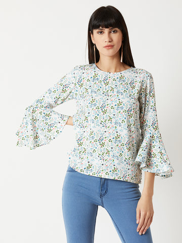 c1076103cd98a8 A Cinderella Story Ruffle Sleeve Top ...