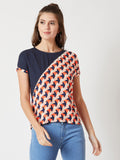 Drunk Driving Colour Block Top