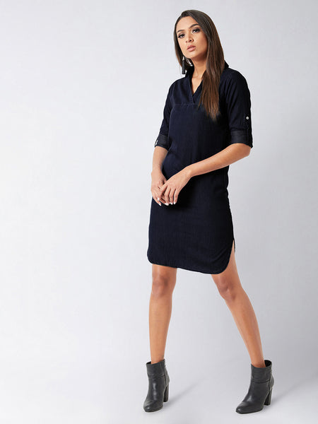 Walk The Lane denim dress