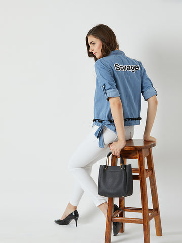 Sky Is The Limit Denim Jacket