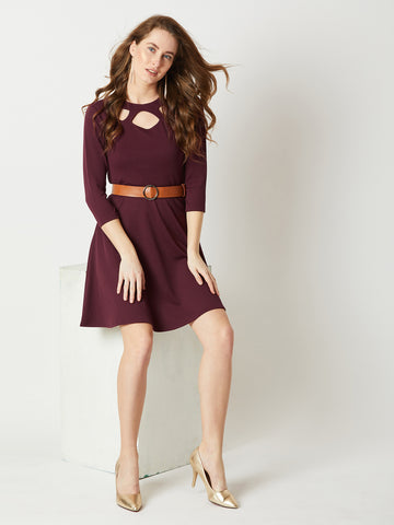 High On Life Cut-Out Dress