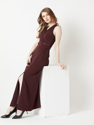Bite The Bullet Wrap Maxi Dress