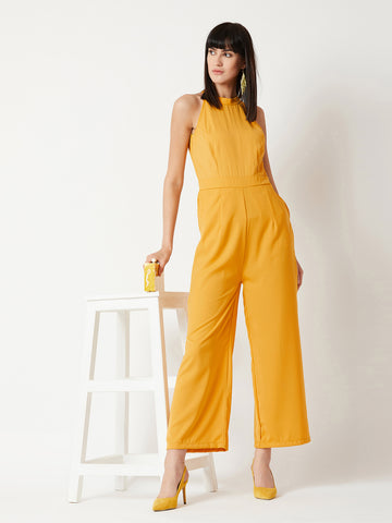 Define Yourself High Neck Jumpsuit