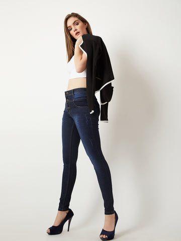Shake along high rise jeans