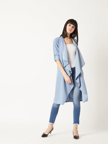 Call For Long Denim Shrug