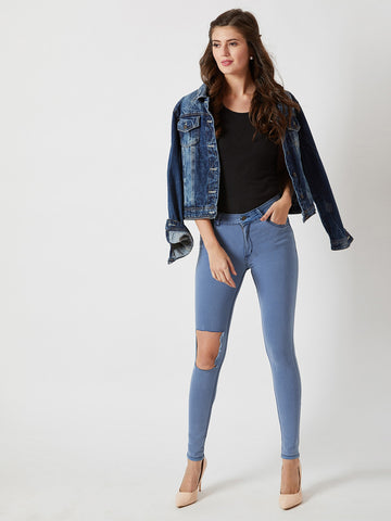 Very Real Skinny Mid Rise Jeans