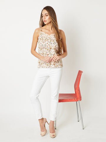 Yours To Keep Lace Tank Top