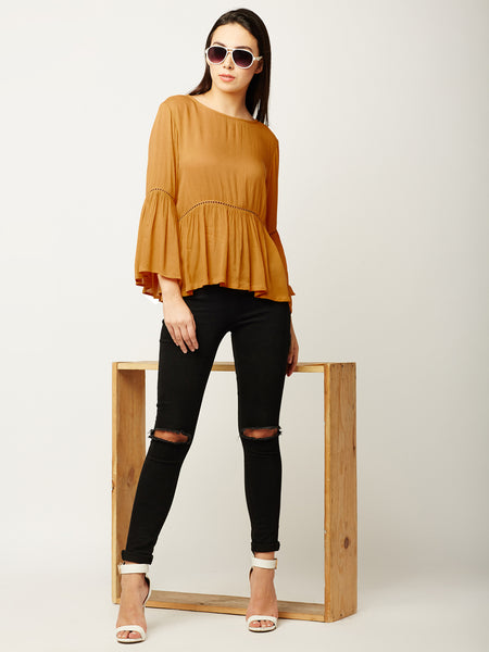 Autumn Fall Lace Top