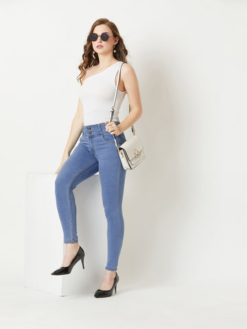 Faith Over Fear High waist Jeans