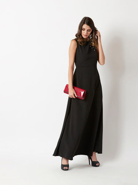 Got Trouble Pearl Maxi Dress