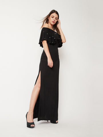 Heart To Finish Pearl Maxi Dress
