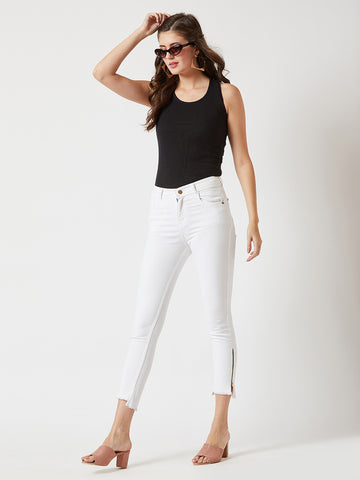 A Good Heart Skinny Fit Jeans