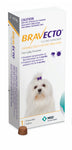 Bravecto Chewables Flea & Tick Control - Extra Small Dog (2-4.5kg)