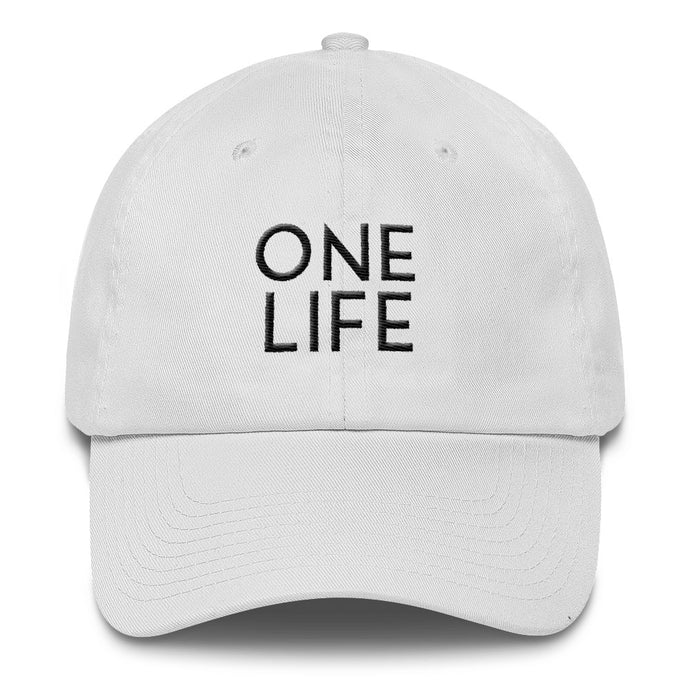 ONE LIFE Hat (Available in White or Black)