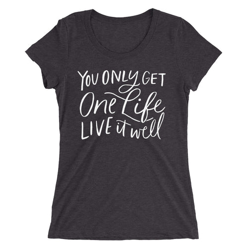 Ladies' Fit Live It Well T-Shirt (3 colors)