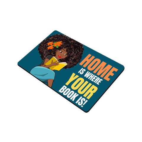 Home of a Reader Door Mat
