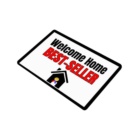 Best-Selling Author Door Mat