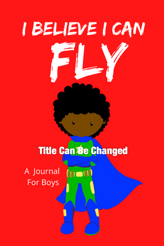 I Can Fly Premade Boys Journal Design
