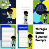 Dear Brown Boy Premade Journal Design