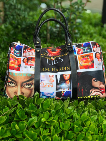 Custom Author Covers/ Photo Bags