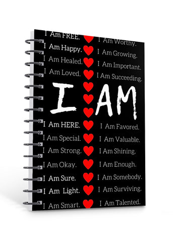 Premade Journal Cover: I AM