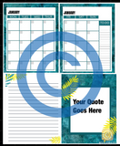 Premade Serenity & Peace Planner (Monthly)