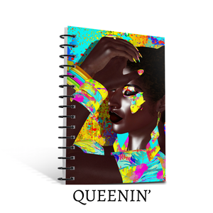 """Queenin'"" Journal (NEW!) - Books & More by Author B.M. Hardin"