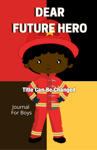 Future Hero Boy Premade Journal Design